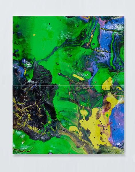 Magnettafel NOTIZ 60x80cm Motiv ABSTRAKT MDH46 Motiv-Pinnwand