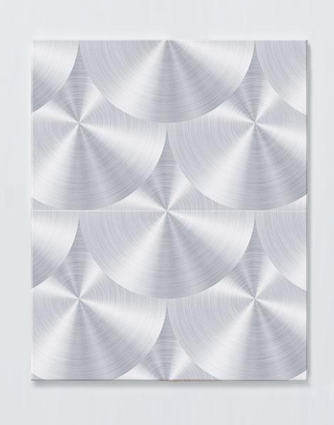 Magnettafel NOTIZ 60x80cm Motiv METALL MDH77 Motiv-Pinnwand