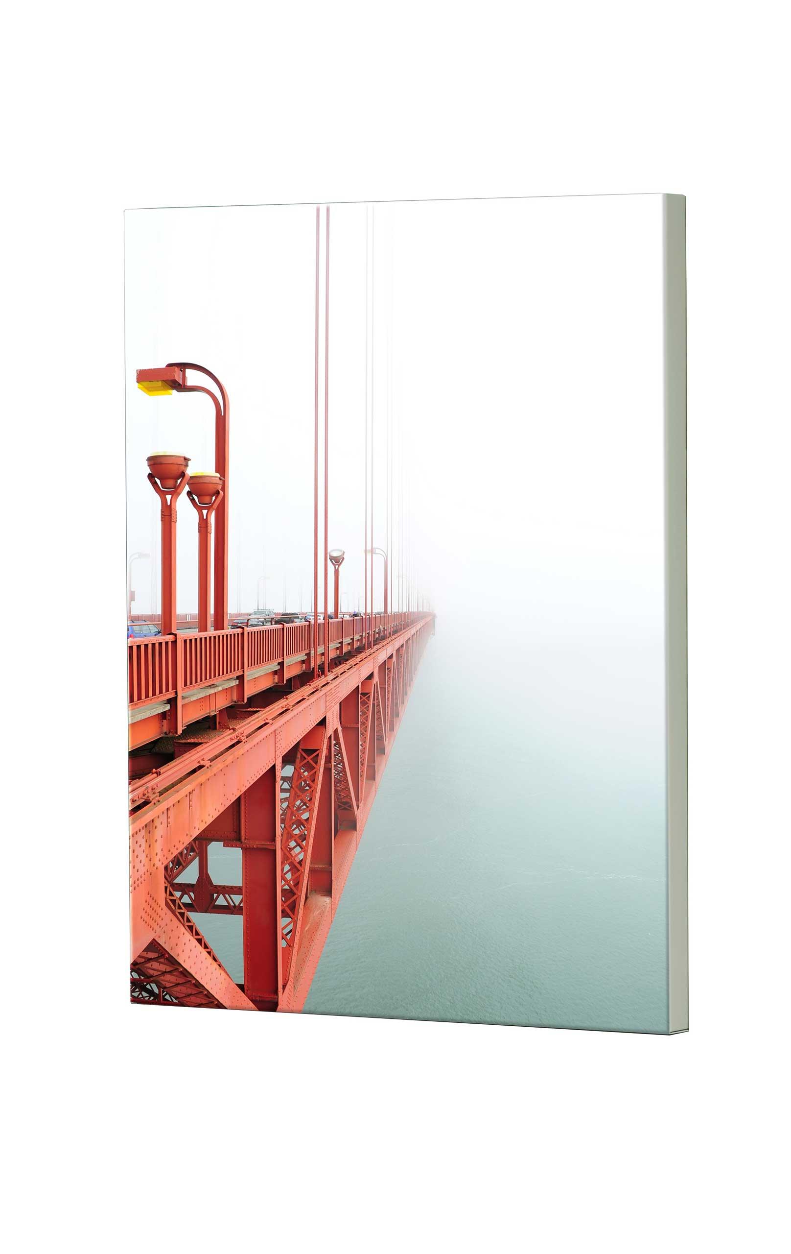 Magnettafel NOTIZ 60x80cm Motiv Golden Gate MDH110 Motiv-Pinnwand