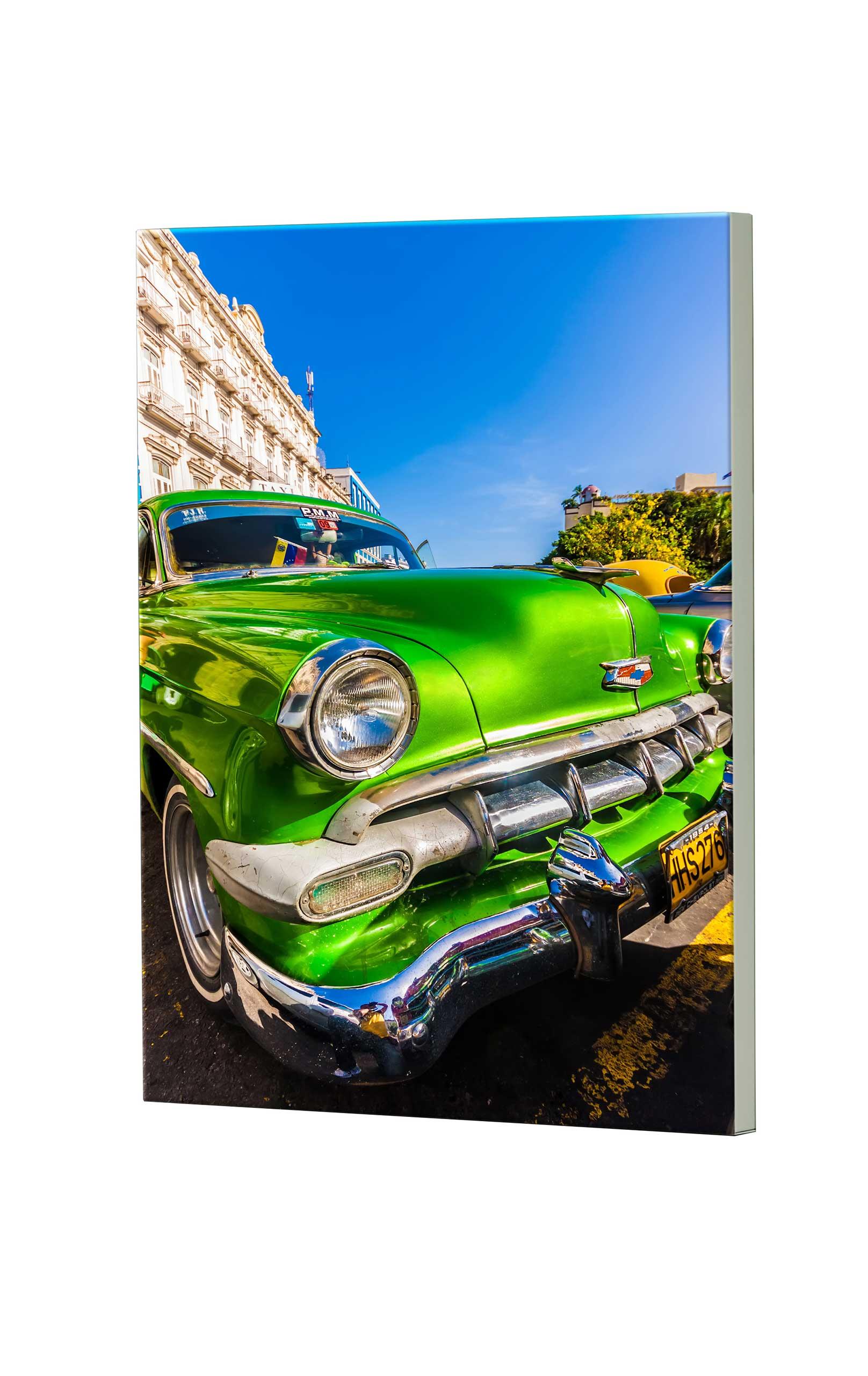 Magnettafel NOTIZ 60x80cm Motiv Classic Car MDH134 Motiv-Pinnwand