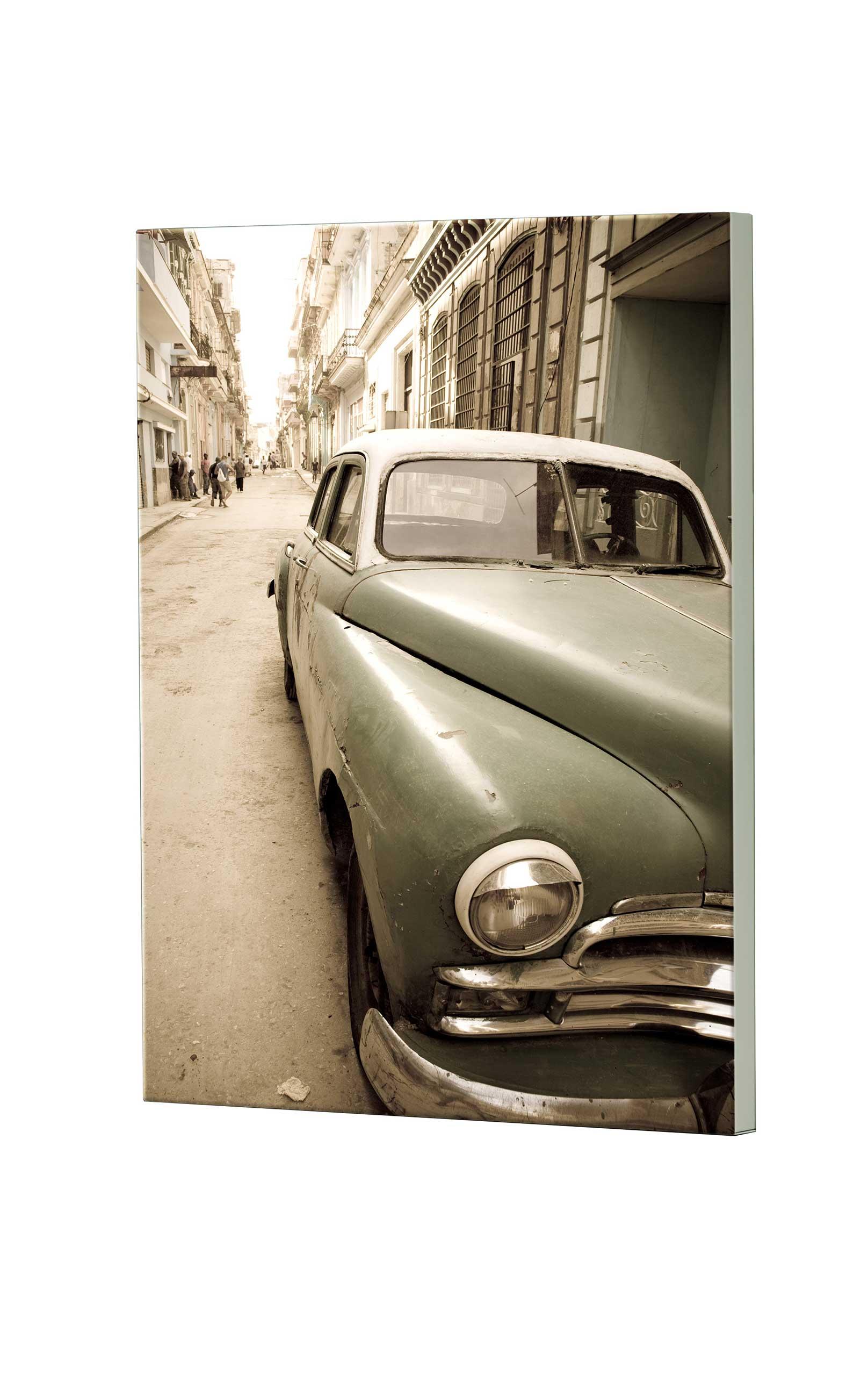 Magnettafel NOTIZ 60x80cm Motiv Cuba MDH137 Motiv-Pinnwand
