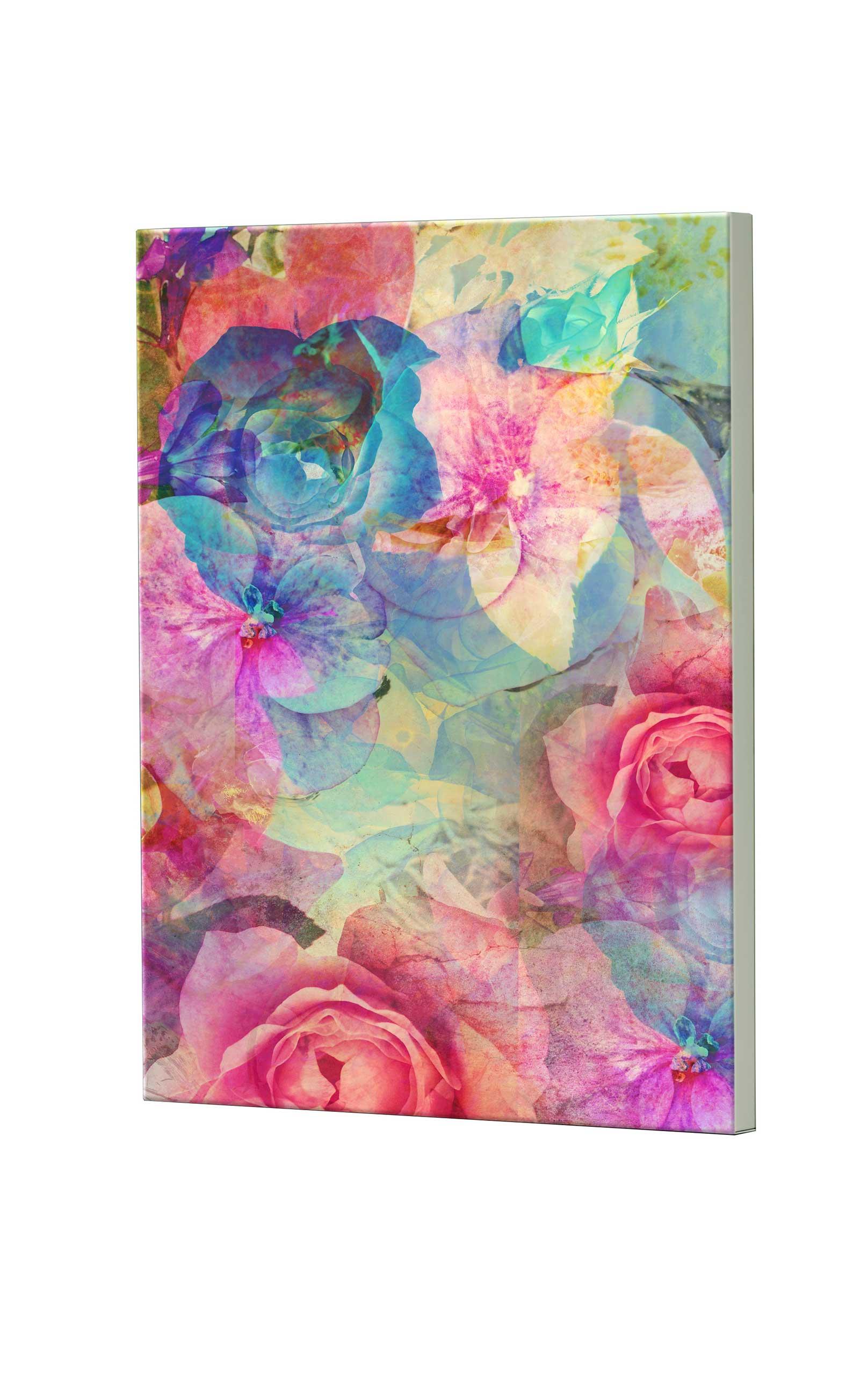 Magnettafel NOTIZ 60x80cm Motiv Blumen MDH151 Motiv-Pinnwand