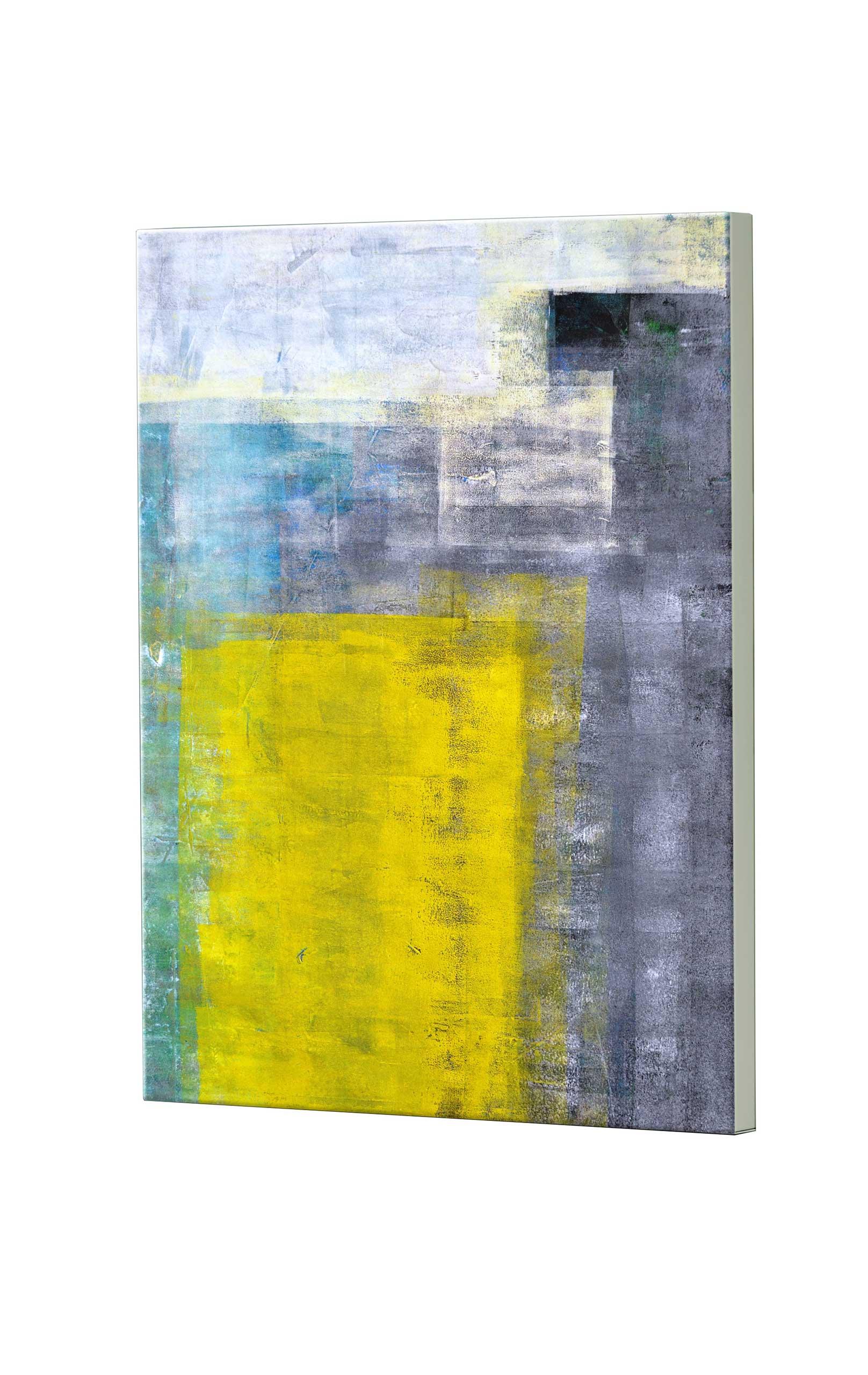 Magnettafel NOTIZ 60x80cm Motiv Abstrakt Kunst MDH168 Motiv-Pinnwand
