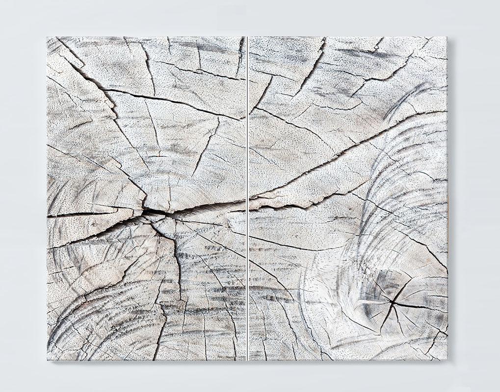 Magnettafel NOTIZ 80x60cm Motiv HOLZ MDQ19 Motiv-Pinnwand