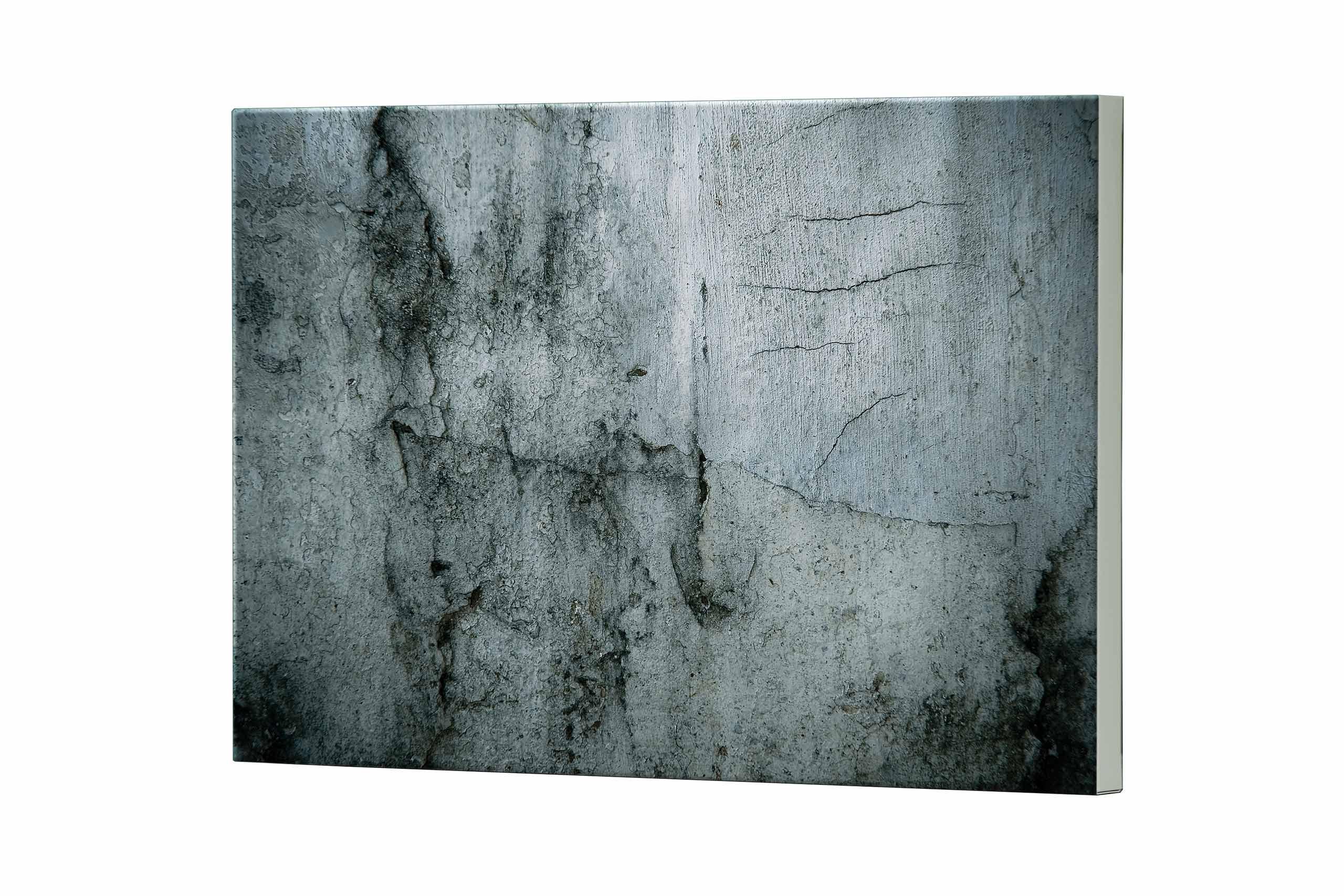 Magnettafel NOTIZ 80x60cm Motiv Beton MDQ126 Motiv-Pinnwand