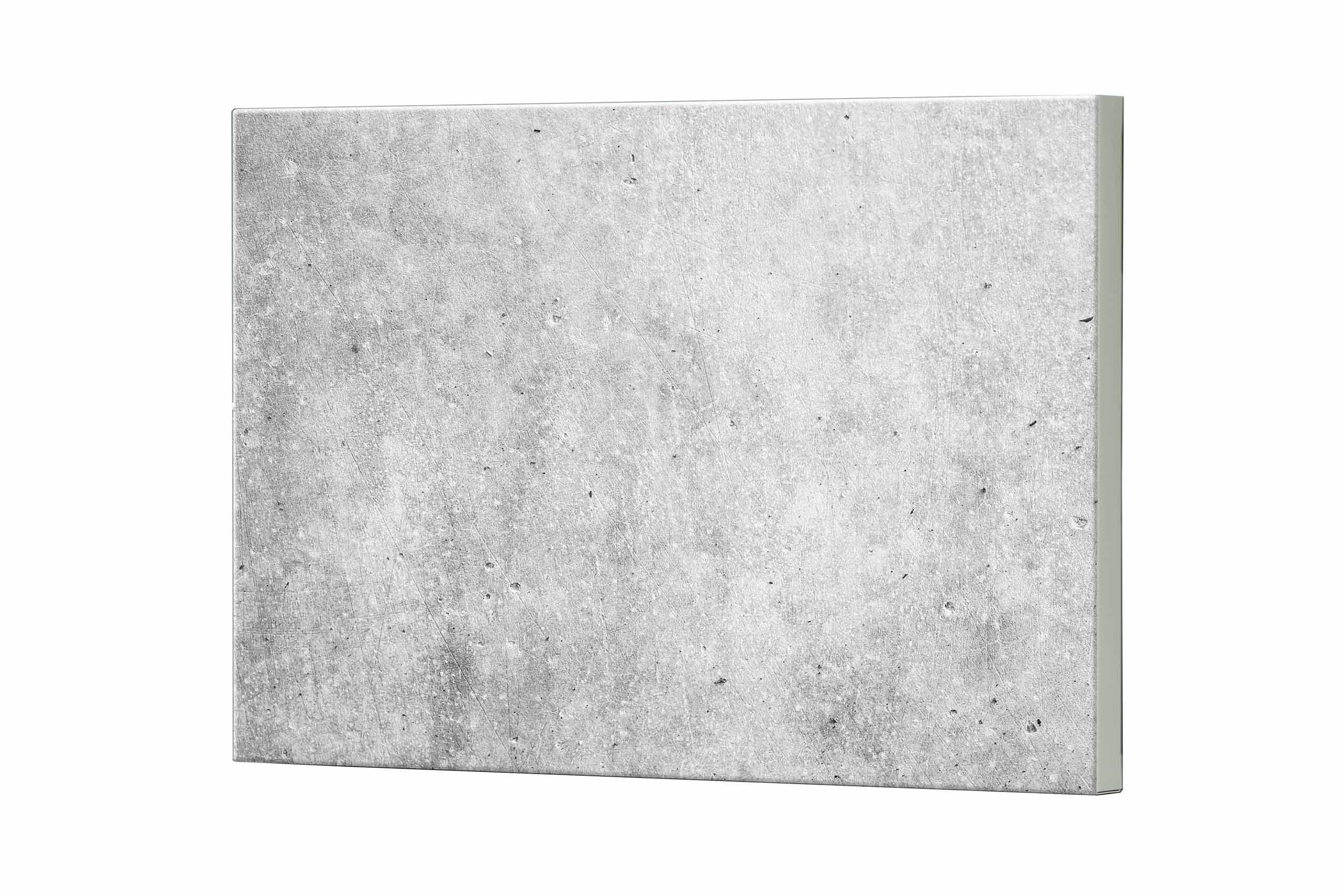 Magnettafel NOTIZ 80x60cm Motiv Beton MDQ246 Motiv-Pinnwand