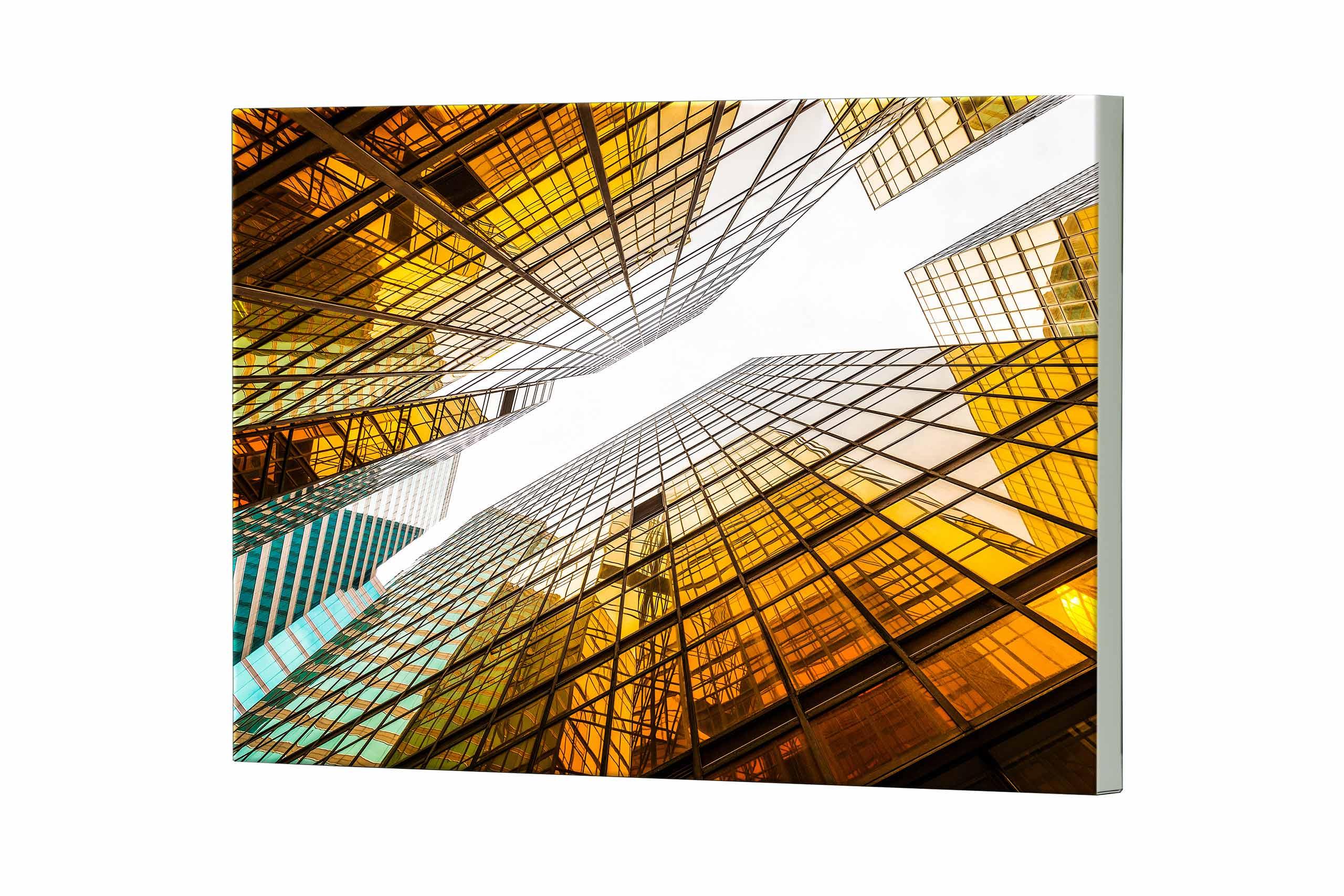 Magnettafel NOTIZ 80x60cm Motiv Architektur MDQ283 Motiv-Pinnwand