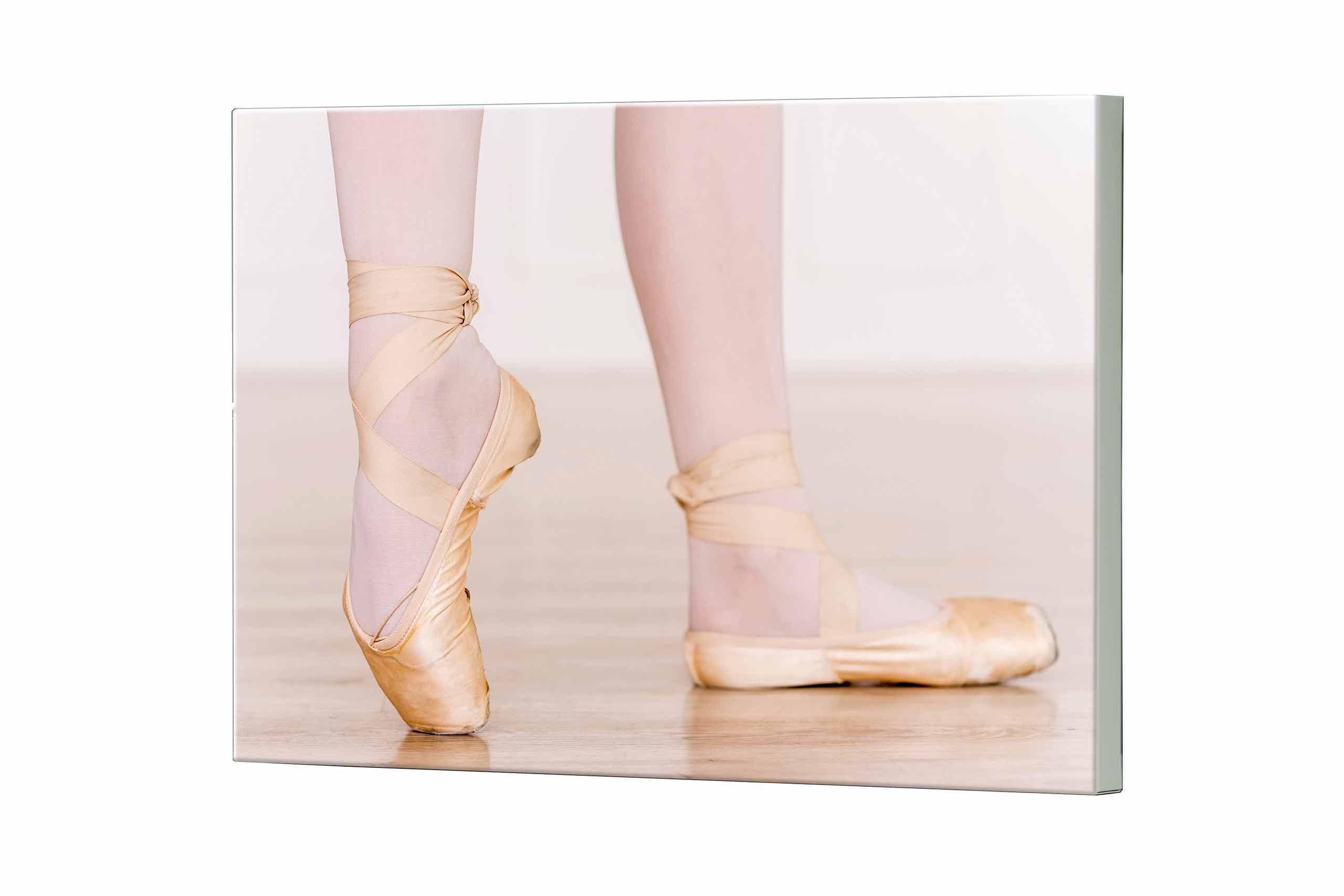 Magnettafel NOTIZ 80x60cm Motiv Ballerina MDQ330 Motiv-Pinnwand