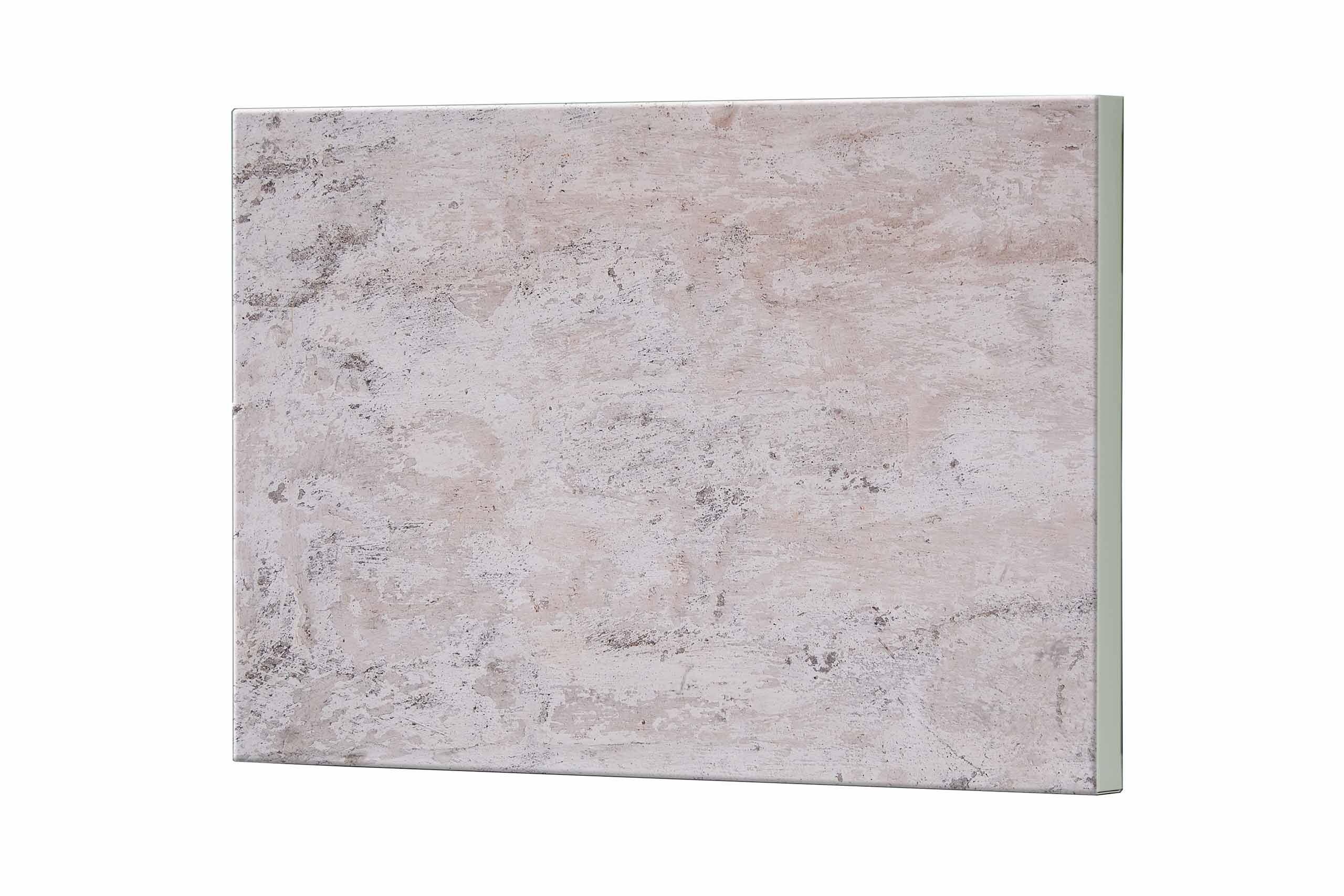 Magnettafel NOTIZ 80x60cm Motiv Beton MDQ370 Motiv-Pinnwand