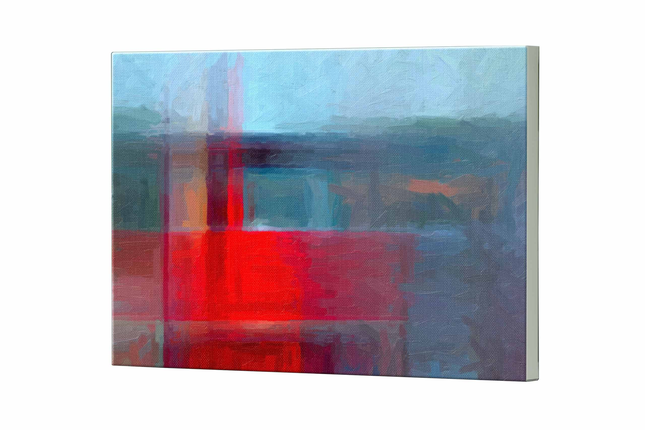 Magnettafel NOTIZ 80x60cm Motiv Abstrakt Kunst MDQ496 Motiv-Pinnwand