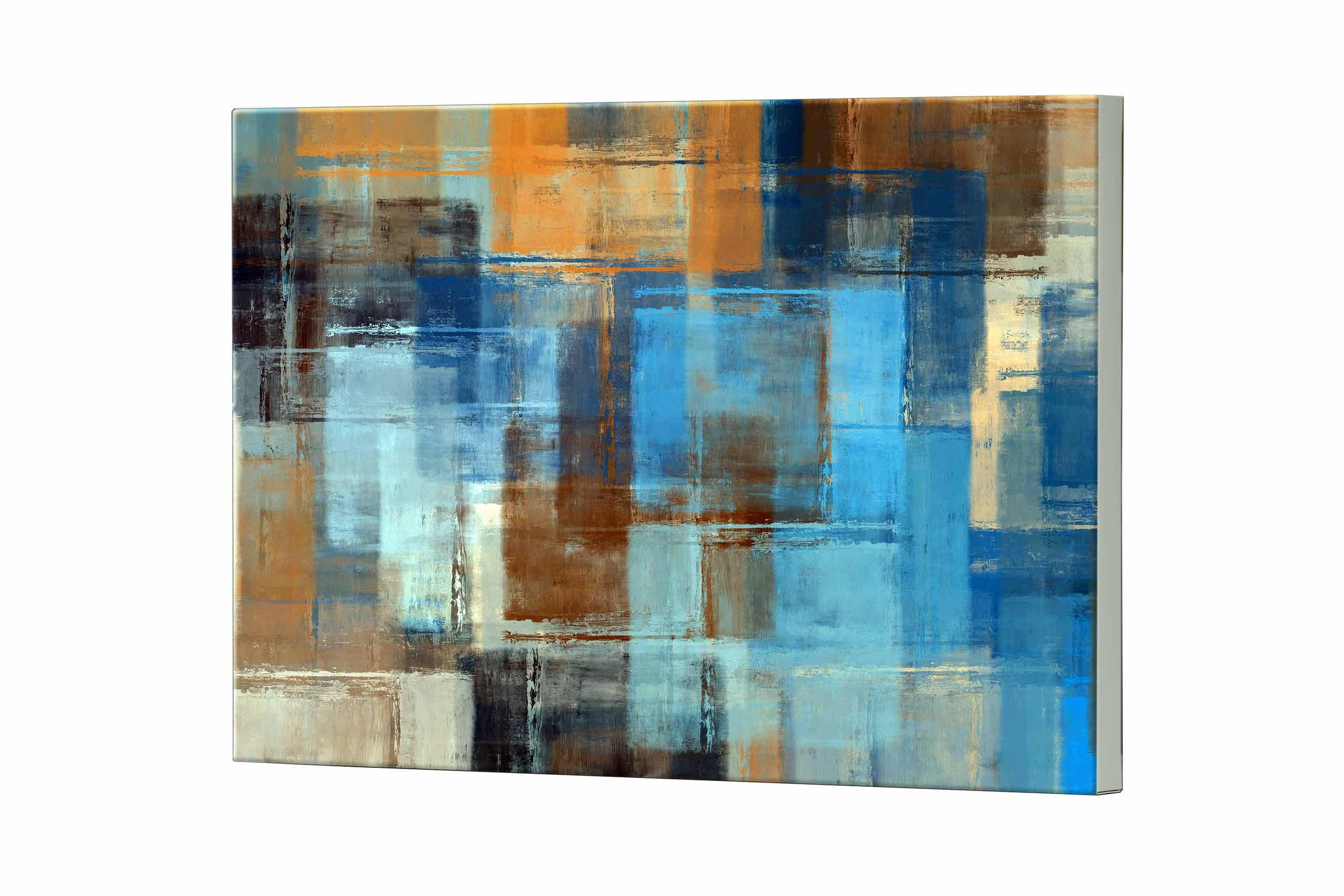 Magnettafel NOTIZ 80x60cm Motiv Abstrakt Kunst MDQ498 Motiv-Pinnwand