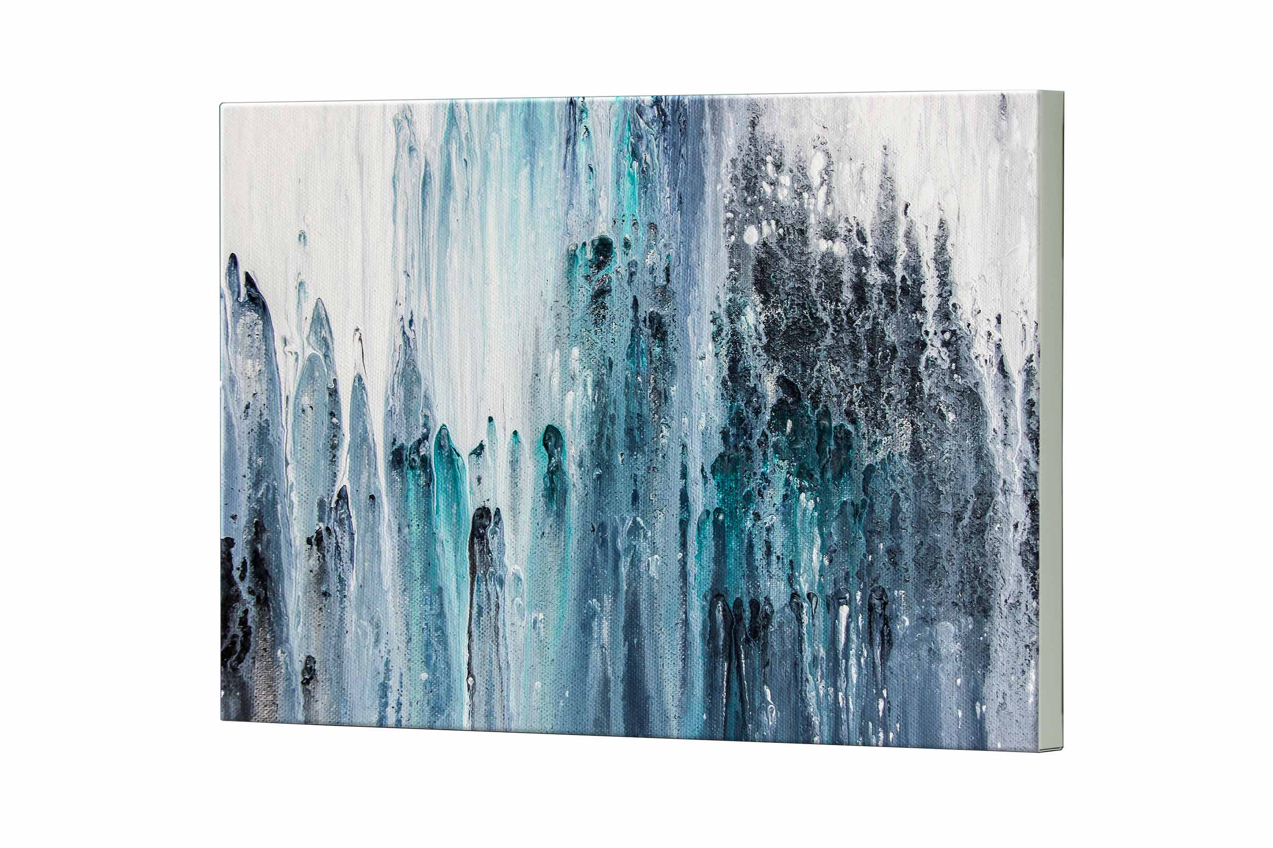 Magnettafel NOTIZ 80x60cm Motiv Abstrakt Kunst MDQ503 Motiv-Pinnwand
