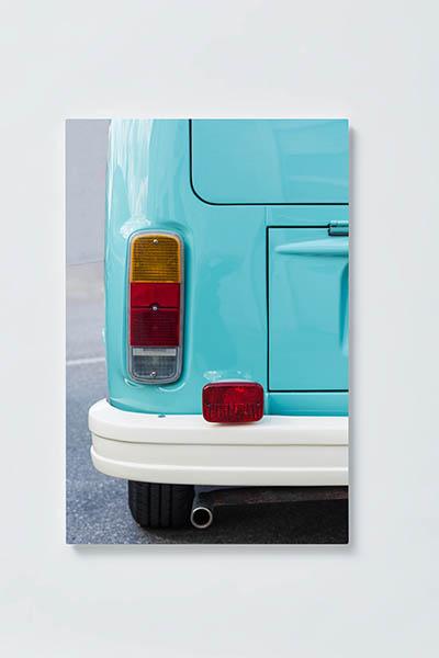 Magnettafel NOTIZ 40x60cm Motiv BULLI VW MH161 Motiv-Pinnwand