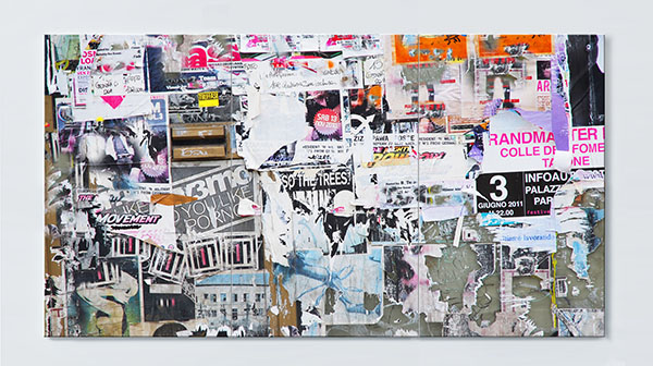 Magnettafel NOTIZ 120x60cm Motiv Plakate MP05 Motiv-Pinnwand