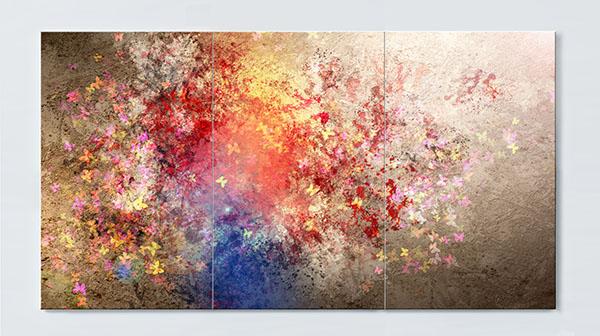 Magnettafel NOTIZ 120x60cm Motiv Kunst MP11 Motiv-Pinnwand
