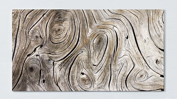 Magnettafel NOTIZ 120x60cm Motiv Holz MP30 Motiv-Pinnwand