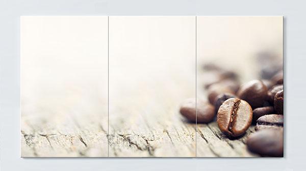 Magnettafel NOTIZ 120x60cm Motiv Kaffee MP39 Motiv-Pinnwand