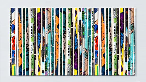Magnettafel NOTIZ 120x60cm Motiv Comics MP42 Motiv-Pinnwand