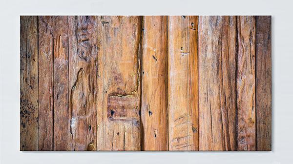 Magnettafel NOTIZ 120x60cm Motiv Holz MP44 Motiv-Pinnwand
