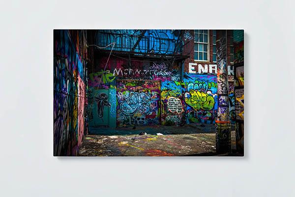Magnettafel NOTIZ 60x40cm Motiv GRAFFITI MQ570 Motiv-Pinnwand