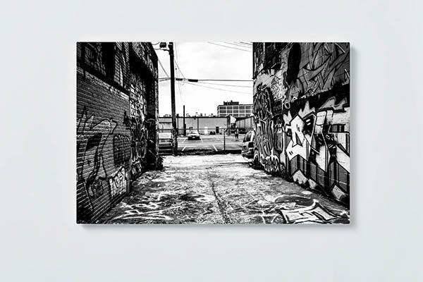 Magnettafel NOTIZ 60x40cm Motiv GRAFFITI MQ571 Motiv-Pinnwand