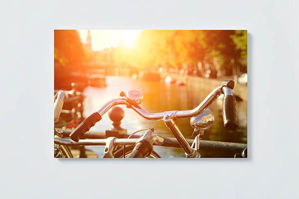 Magnettafel NOTIZ 60x40cm Motiv AMSTERDAM MQ592 Motiv-Pinnwand