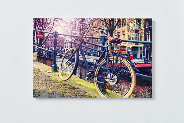 Magnettafel NOTIZ 60x40cm Motiv AMSTERDAM MQ739 Motiv-Pinnwand