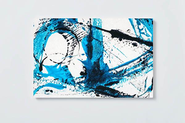 Magnettafel NOTIZ 60x40cm Motiv ABSTRAKT MQ769 Motiv-Pinnwand