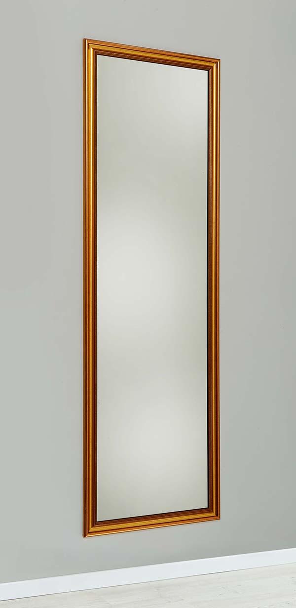 Wandspiegel STRAIGHT GOLD 47x150cm