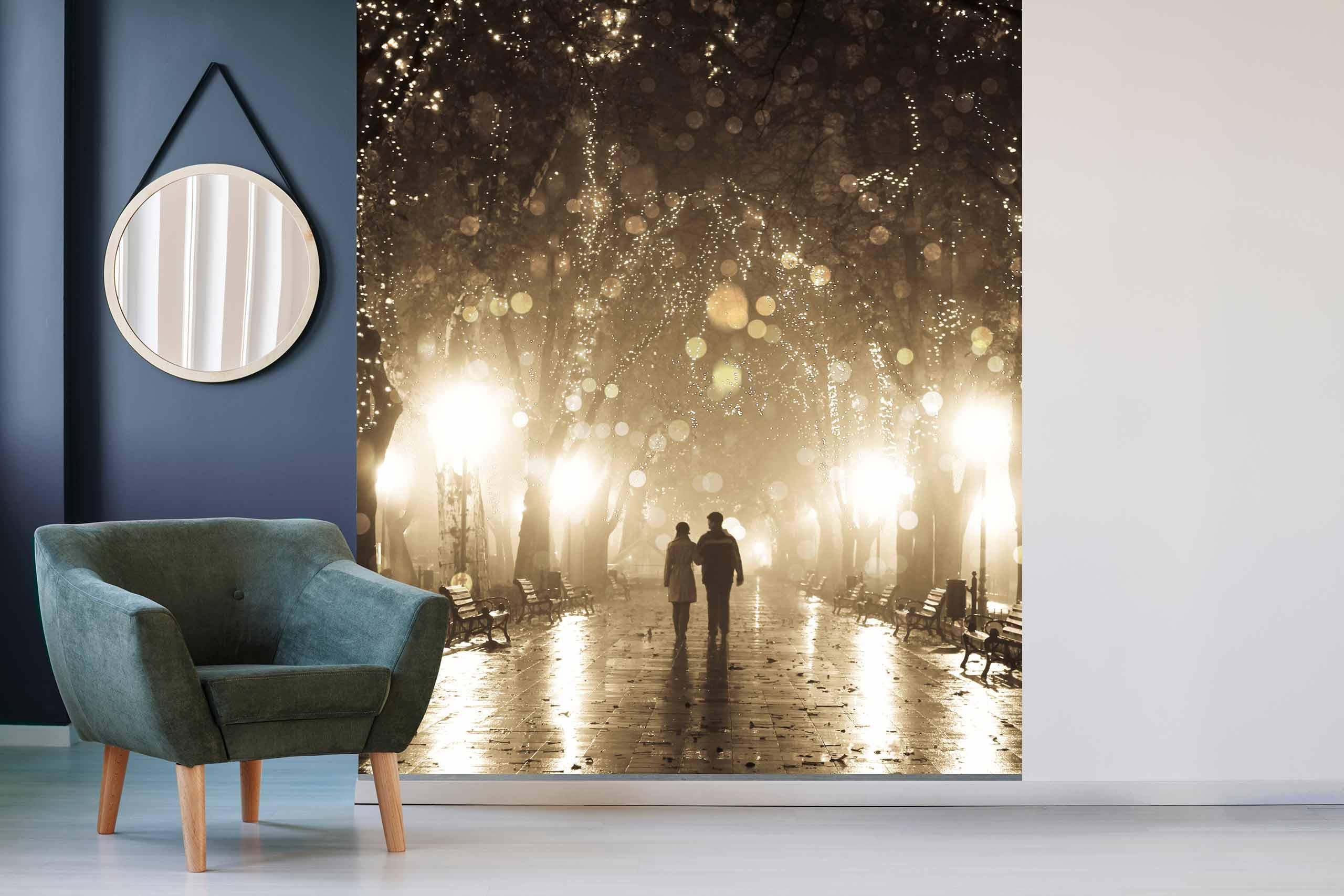 Vlies Tapete 225 Fototapete Höhe 250cm Motiv 07 Romantik Lichter