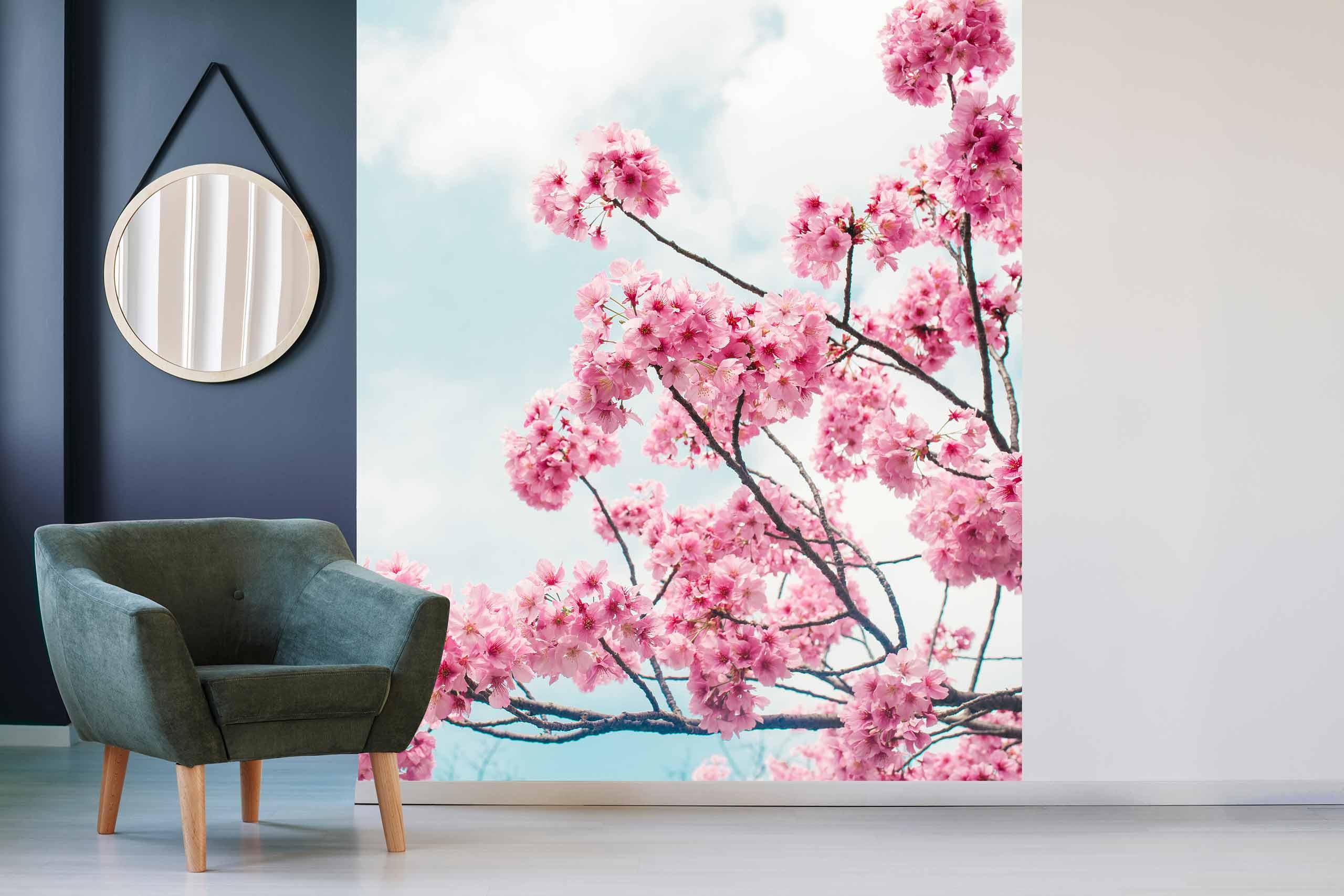 Vlies Tapete 225 Fototapete Höhe 250cm Motiv 111 Blüten Baum