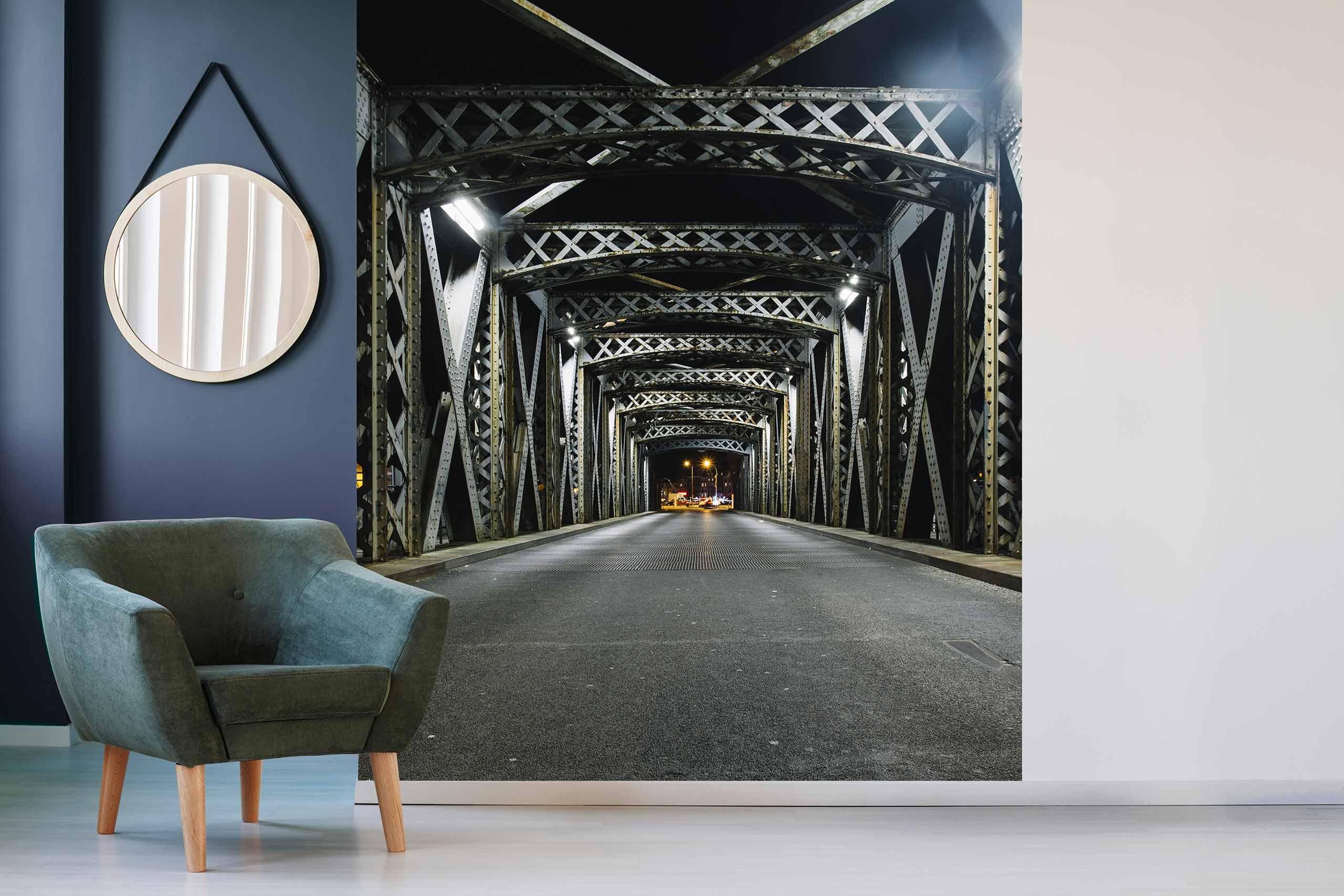 Vlies Tapete 225 Fototapete Höhe 250cm Motiv 122 Brücke