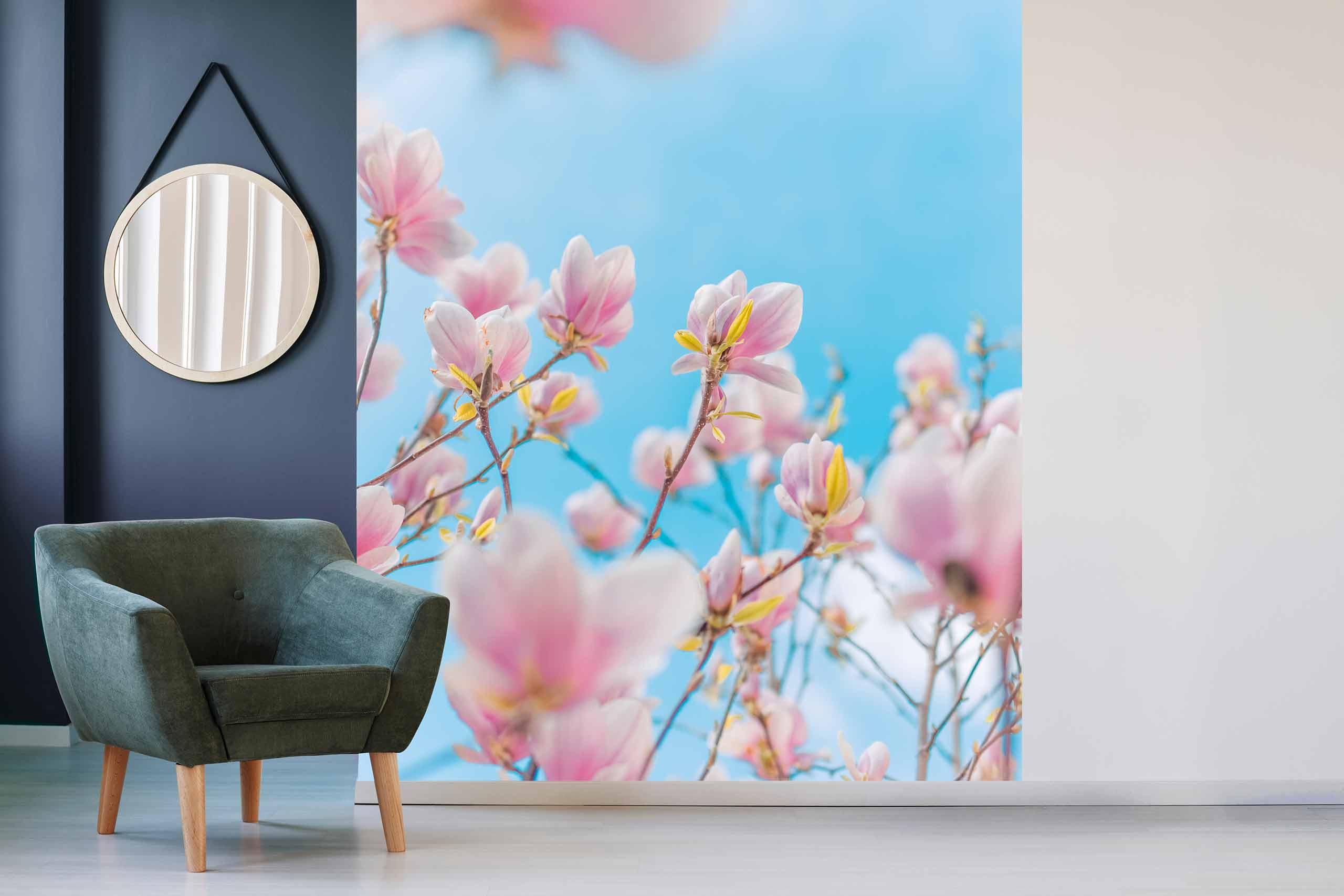 Vlies Tapete 225 Fototapete Höhe 250cm Motiv 124 Blüten Baum