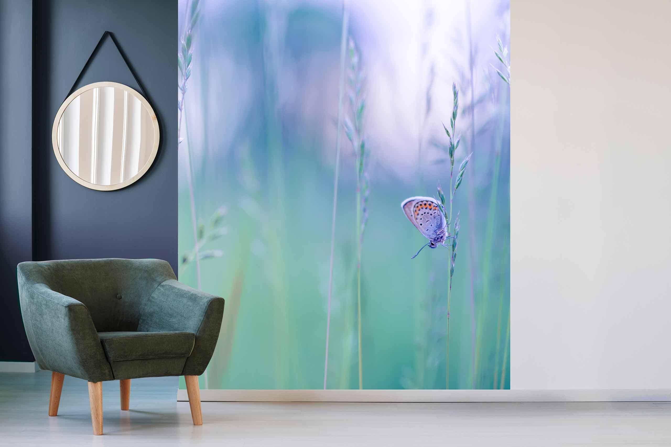 Vlies Tapete 225 Fototapete Höhe 250cm Motiv 131 Schmetterling