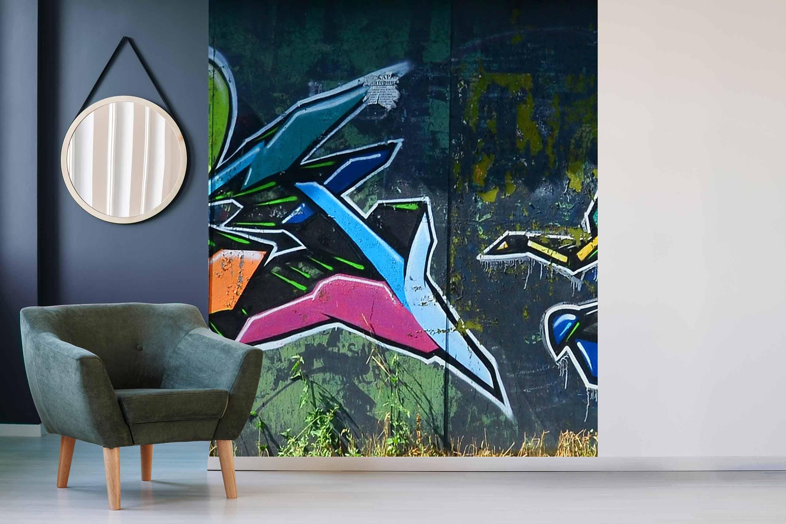 Vlies Tapete 225 Fototapete Höhe 250cm Motiv 139 Graffiti