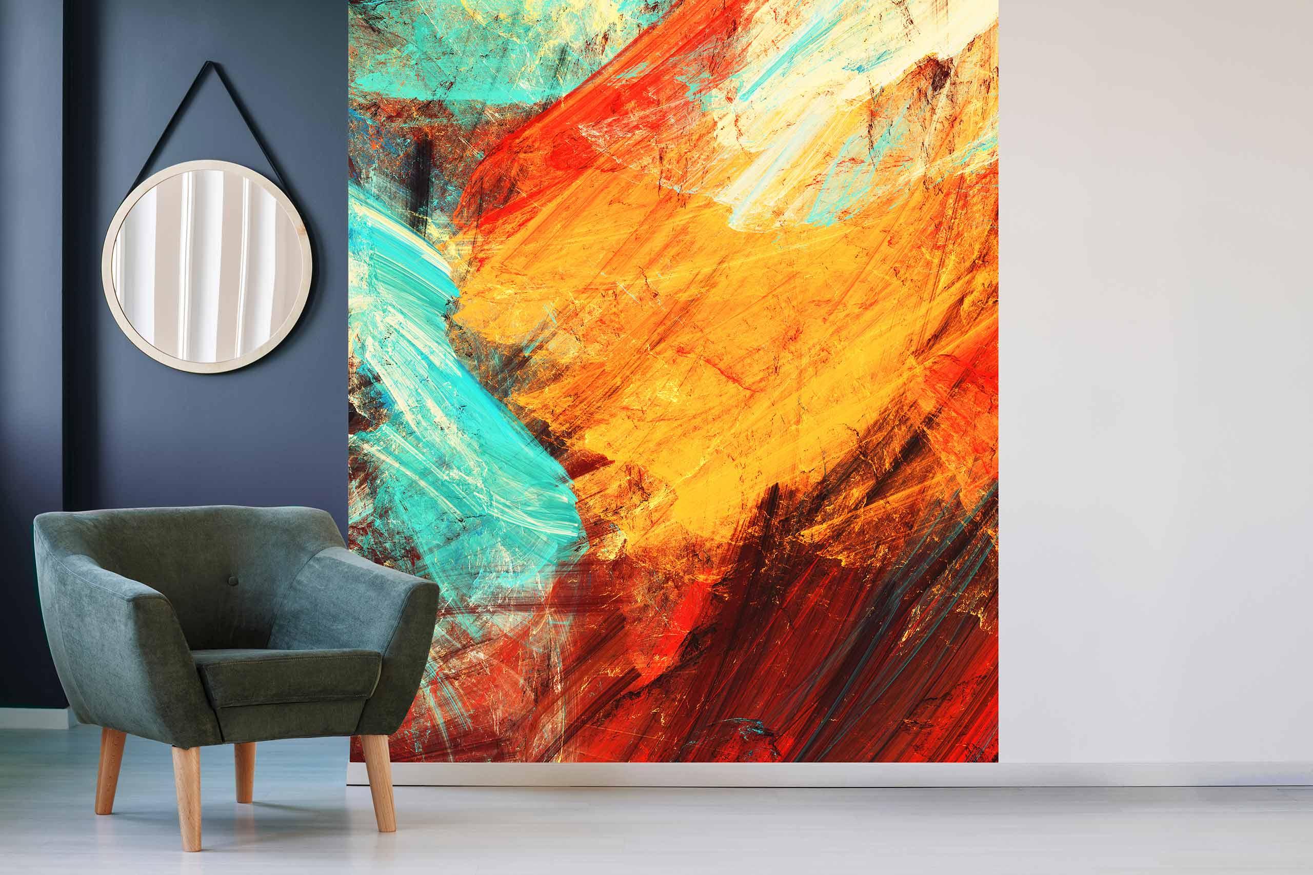 Vlies Tapete 225 Fototapete Höhe 250cm Motiv 142 Abstrakt Kunst