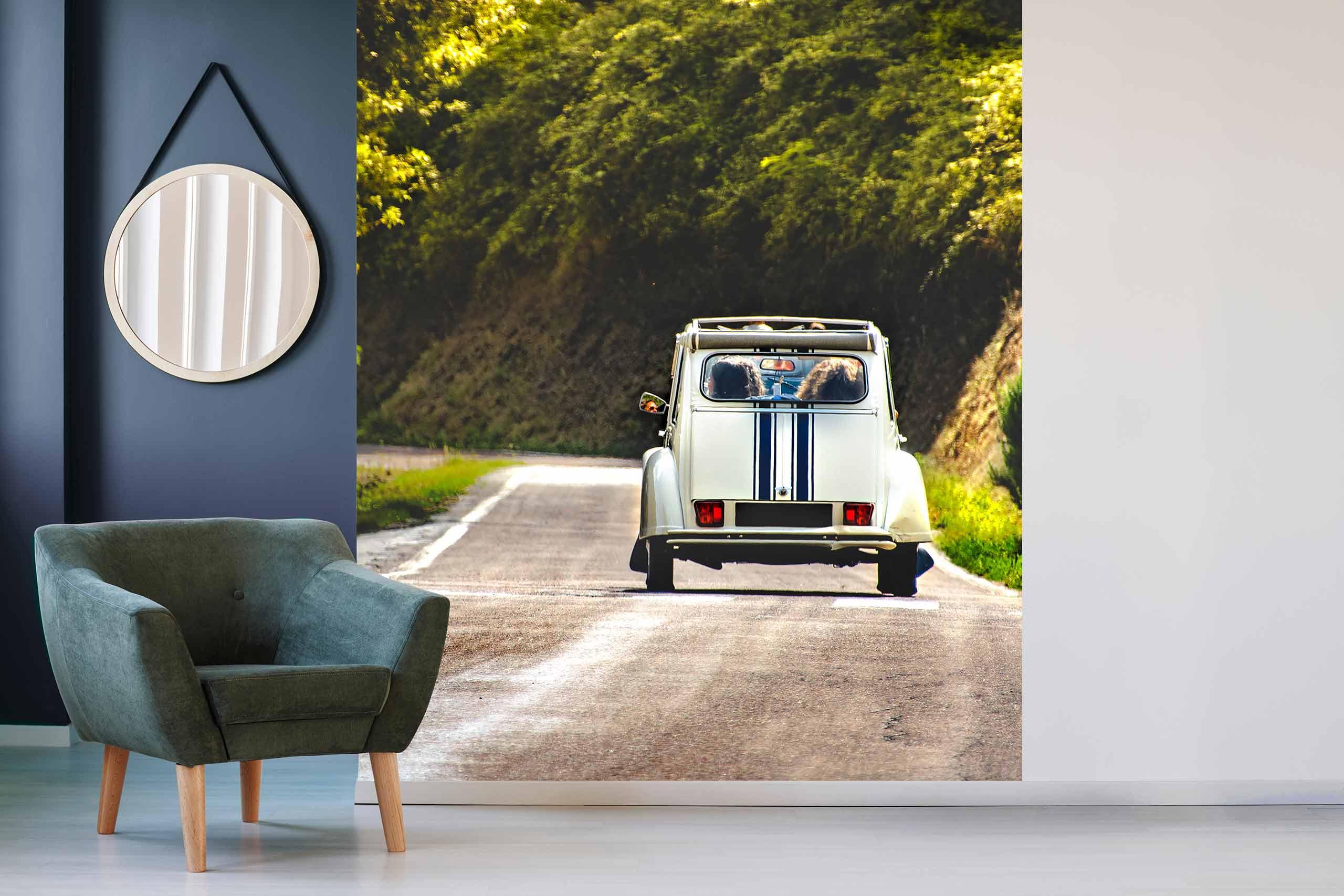 Vlies Tapete 225 Fototapete Höhe 250cm Motiv 160 Vintage Auto
