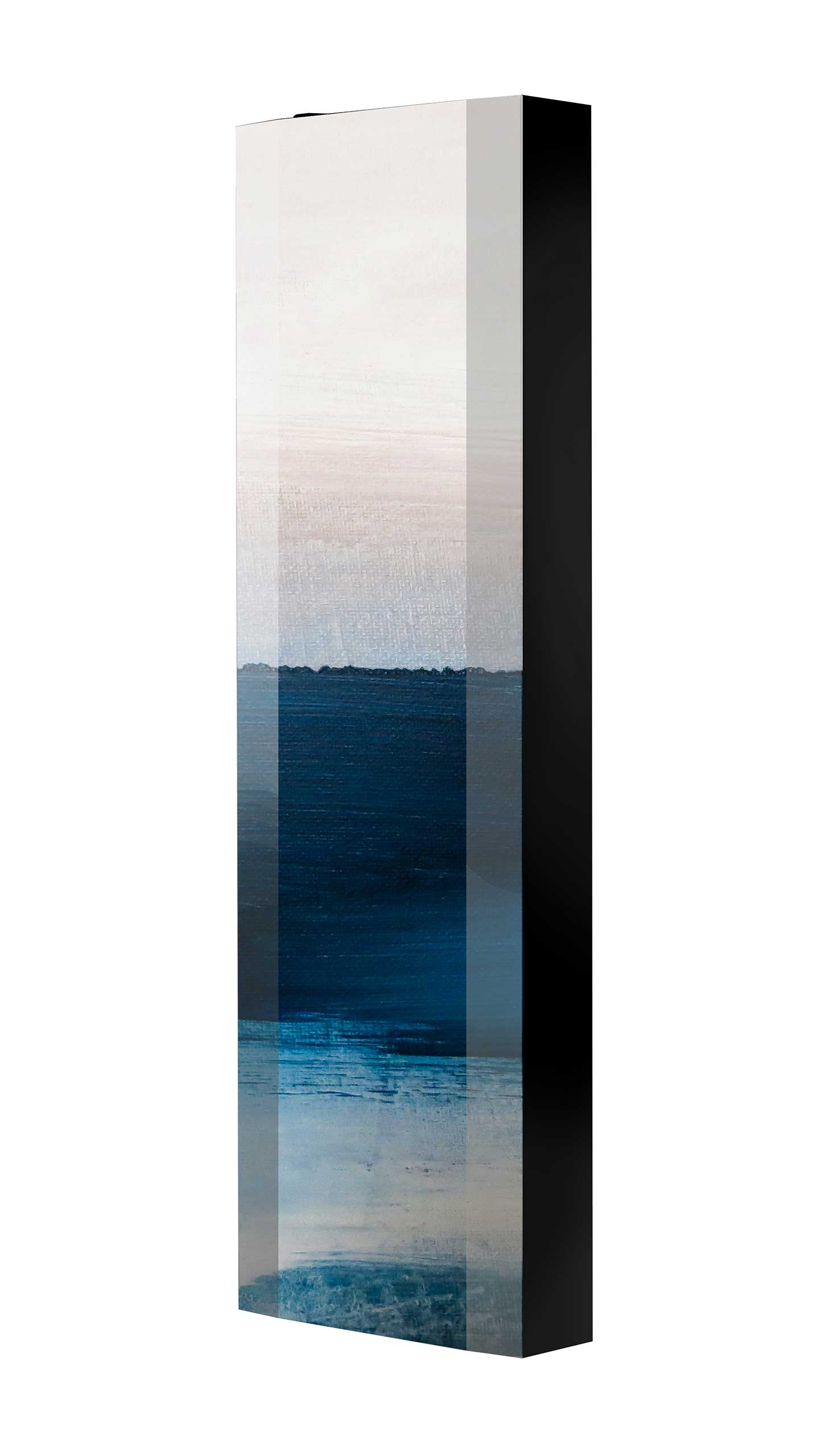 Schuhschrank FLASH 450 BLACK-EDITION Motivschrank schwarz drehbar M102 Kunst