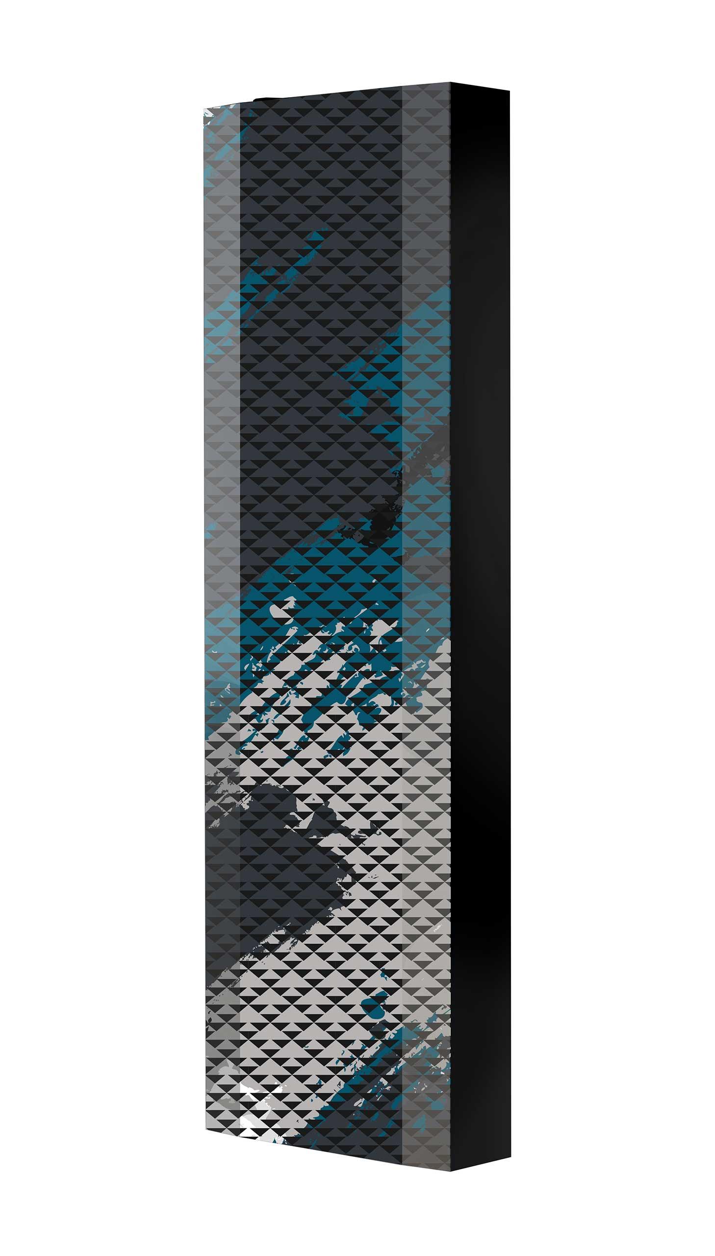 Schuhschrank FLASH 450 BLACK-EDITION Motivschrank schwarz drehbar M129 Camouflage