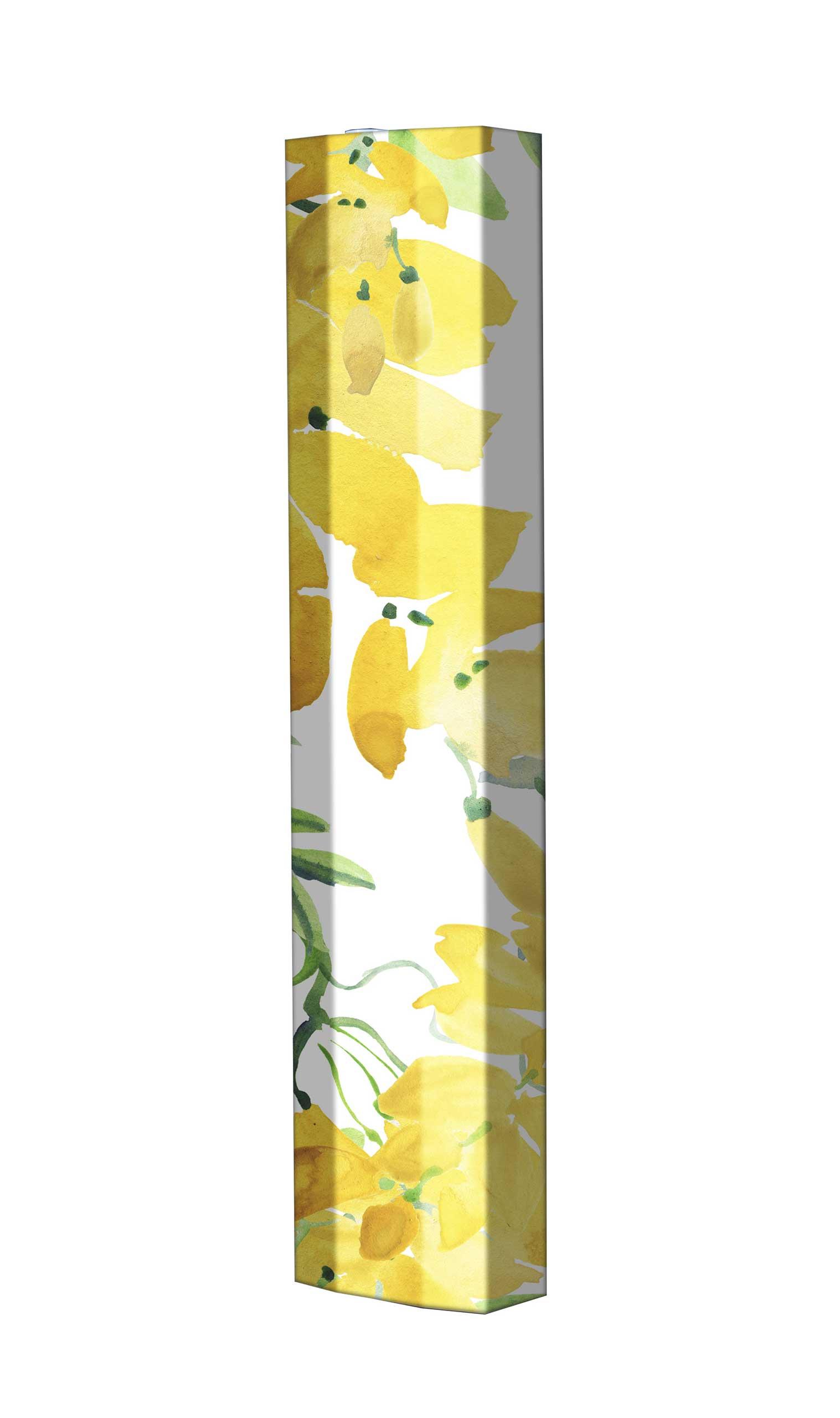 Schuhschrank STORM Motivschrank Single S100 Blumen weiß