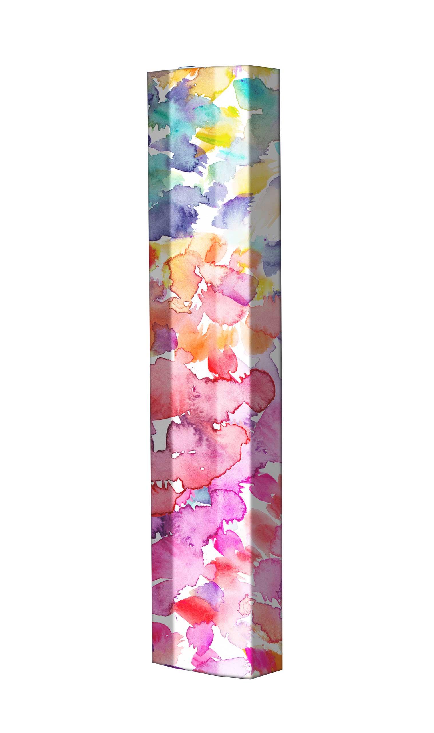 Schuhschrank STORM Motivschrank Single S107 Blumen weiß