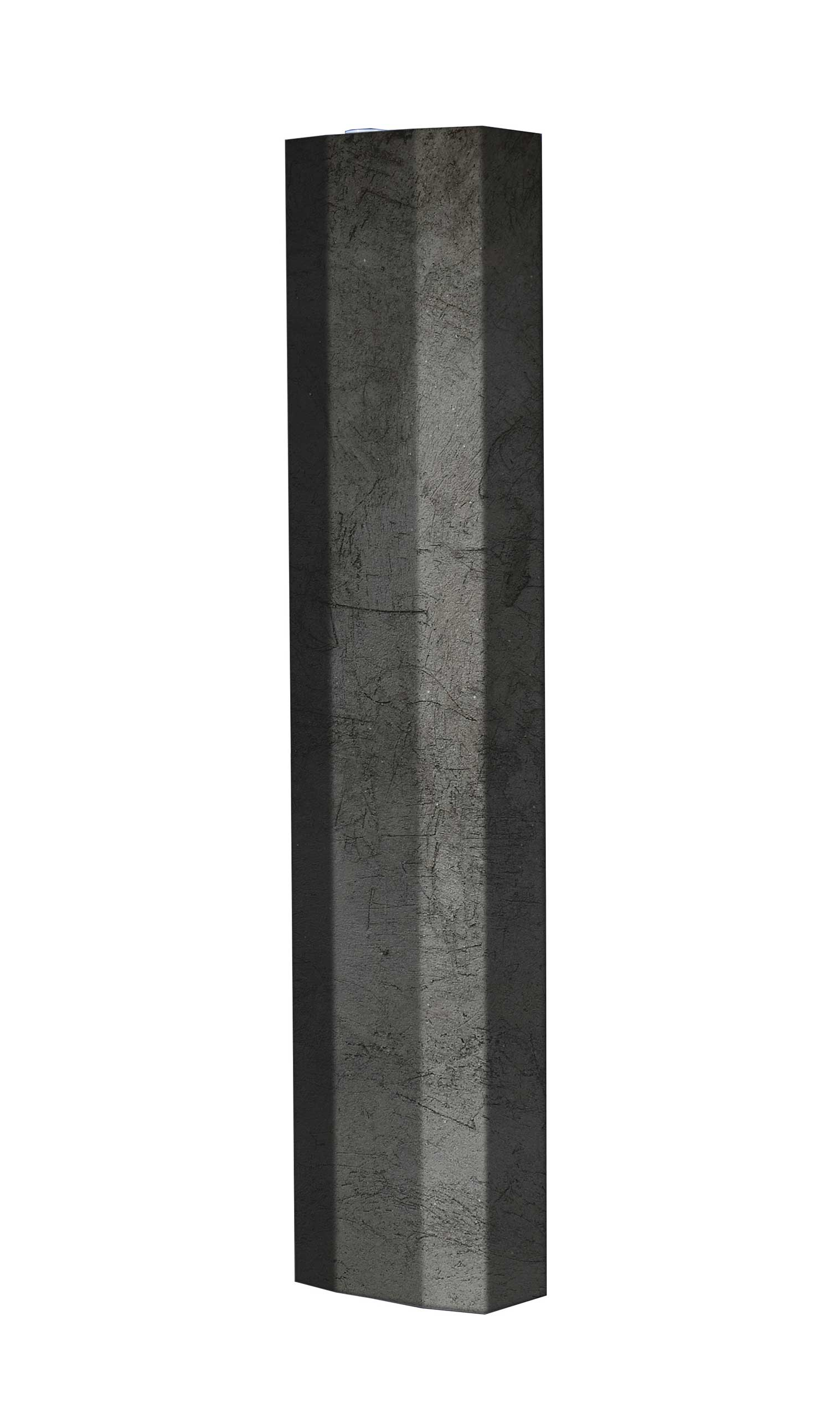 Schuhschrank STORM Motivschrank Single S110 Schiefer weiß