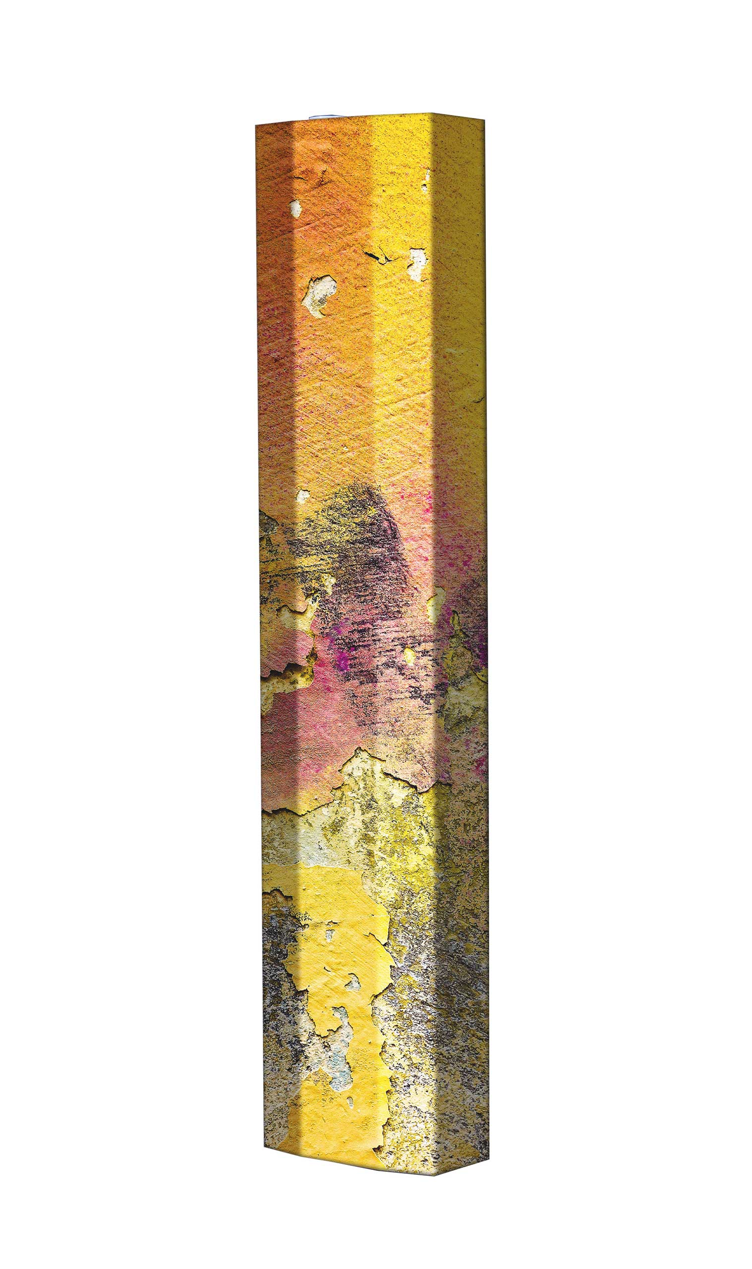 Schuhschrank STORM Motivschrank Single S124 Abstrakt weiß