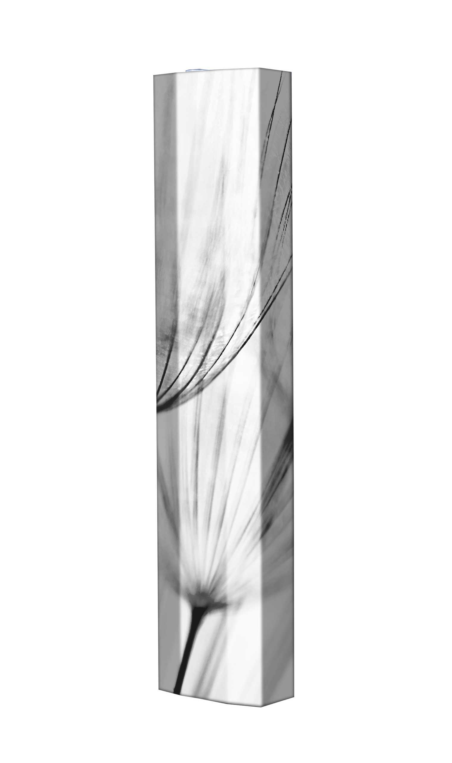 Schuhschrank STORM Motivschrank Single S138 Blumen weiß