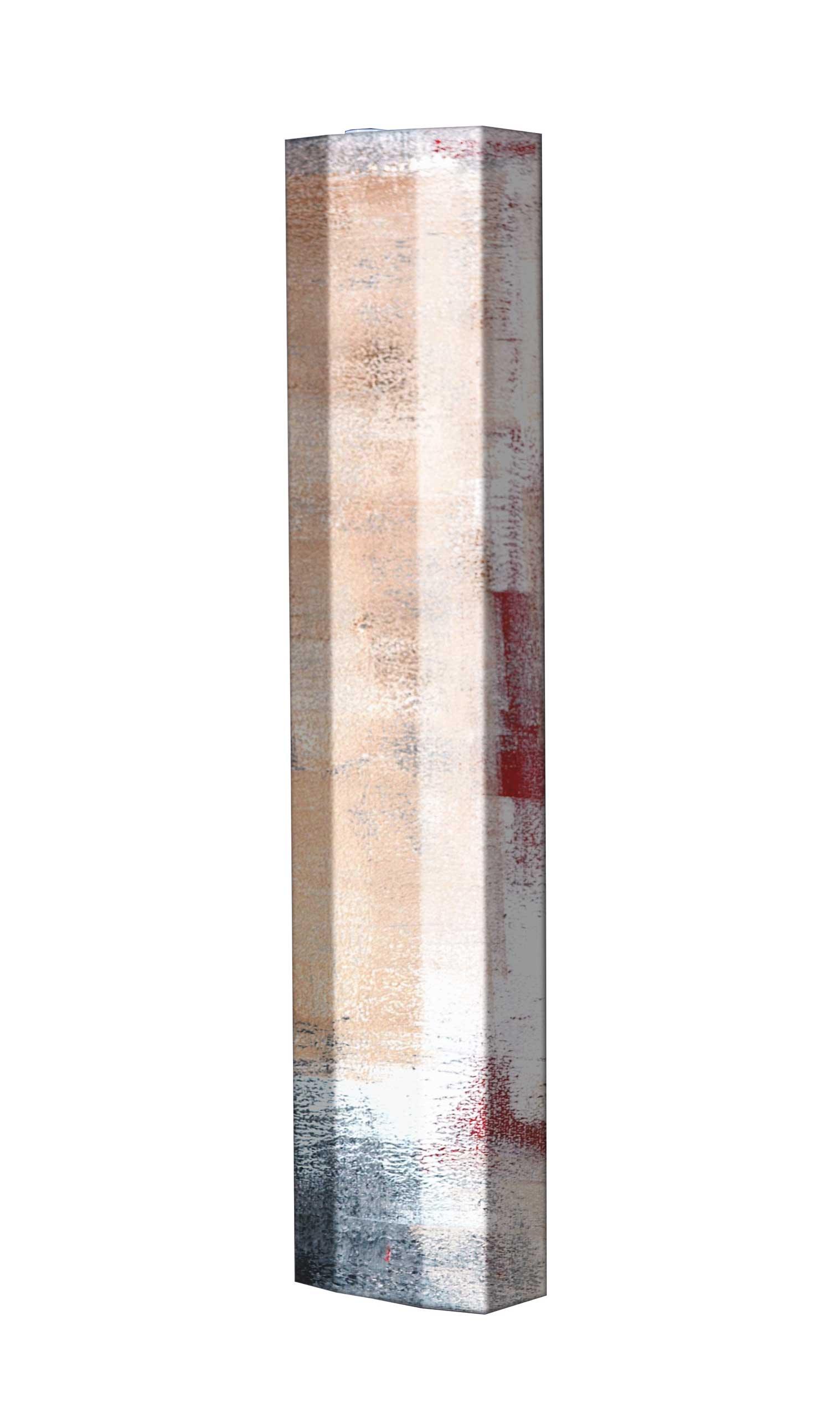 Schuhschrank STORM Motivschrank Single S139 Abstrakt weiß