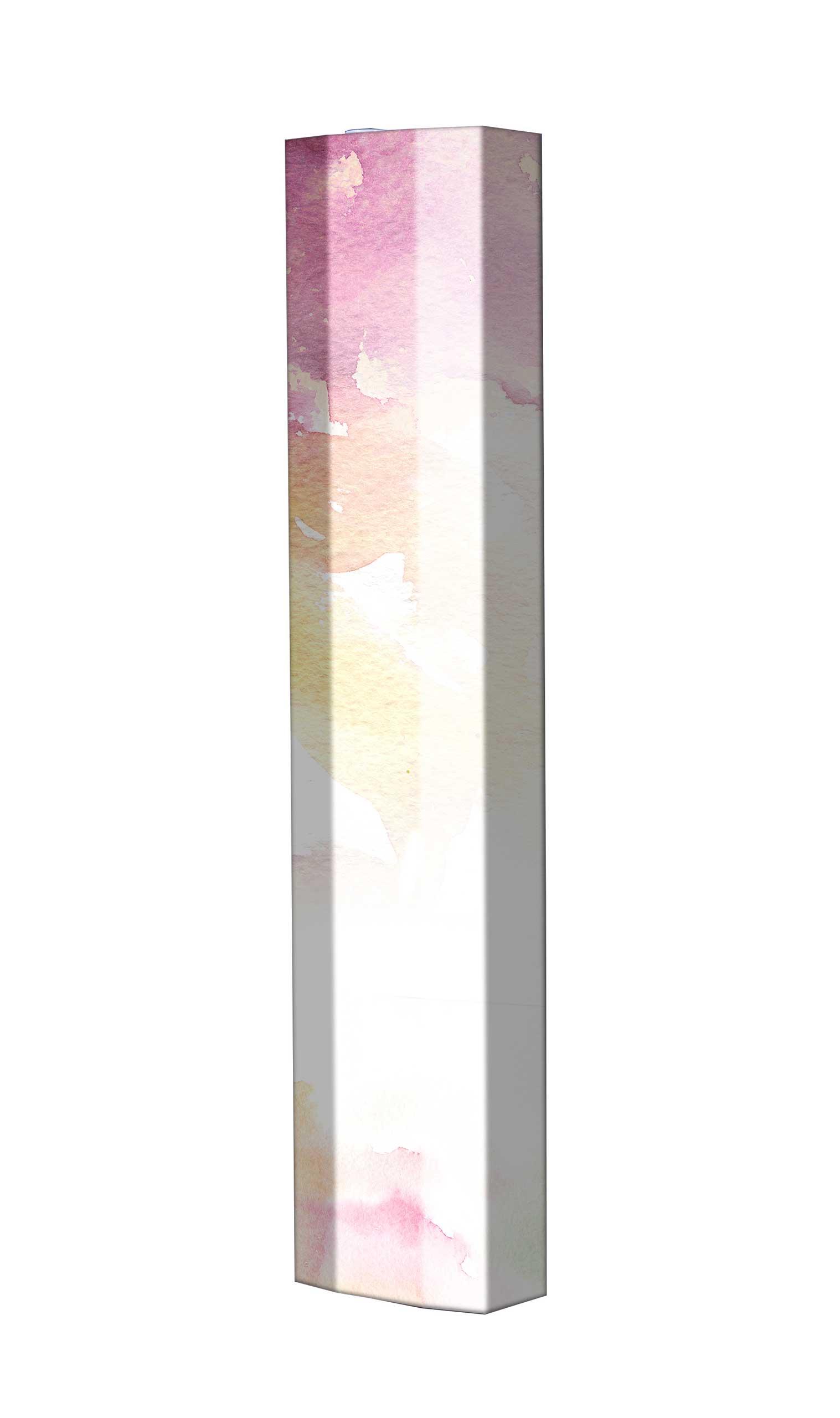 Schuhschrank STORM Motivschrank Single S144 Blumen weiß